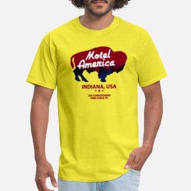 Motel America New America Motel - Men's T-Shirt