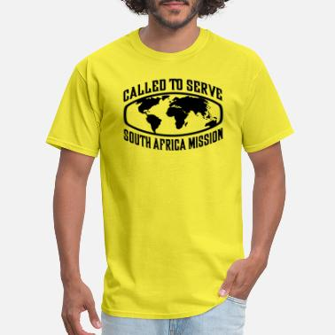South African Clothes South African Mission - LDS Mission CTSW - Men's T-Shirt