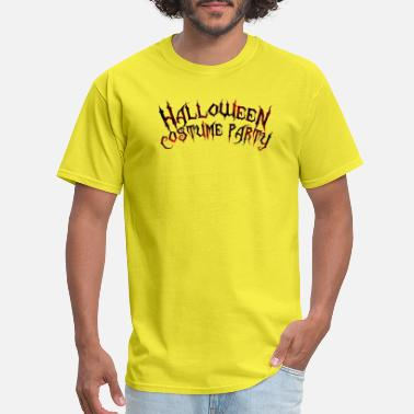 Annual Party second annual halloween costume party png 20 - Men's T-Shirt