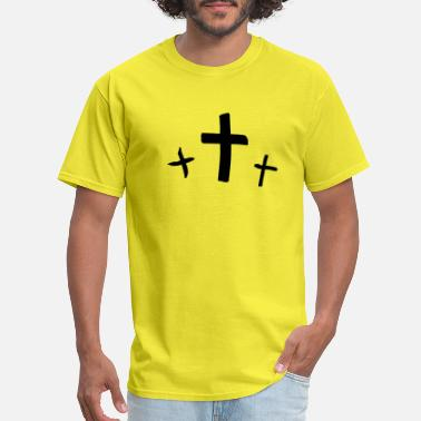 At At Crossing cross - Men's T-Shirt
