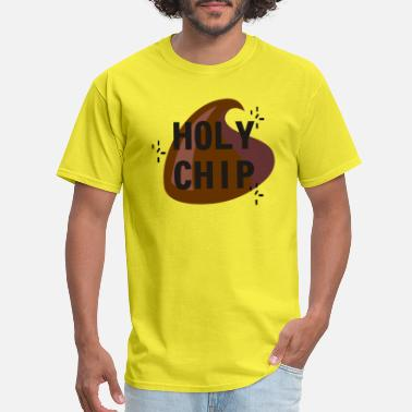 Chip Leader holy chip - Men's T-Shirt