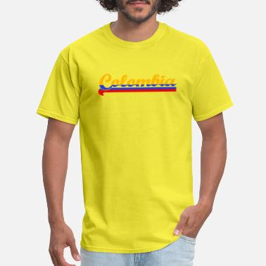 Colombia Colors Colombia - Men's T-Shirt