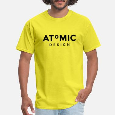 Atom Logo Atomic Design Brand Logo - Men's T-Shirt