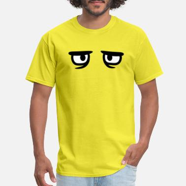 Funny-sad-face sad cartoon face cartoon funny clipart head eyes u - Men's T-Shirt