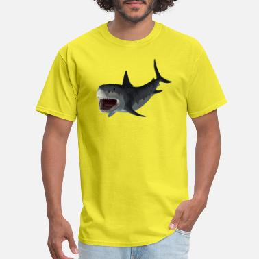 Shark Fisherman Shark - Men's T-Shirt