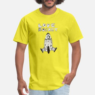 Love And Rockets Love Rocket - Men's T-Shirt