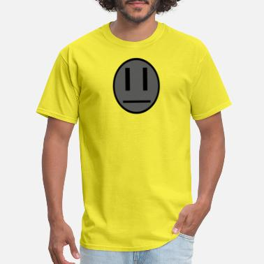 Invaders Quotes Invader Zim Dib emoticon shirt - Men's T-Shirt