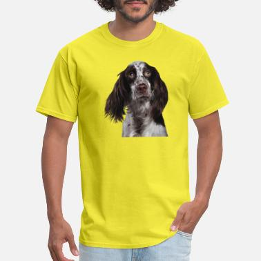 English Springer Spaniel English Springer Spaniel - Puppy Dog Digital Art I - Men's T-Shirt
