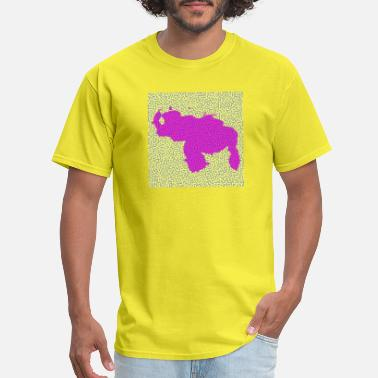 Mapa De Venezuela Inspired by Turing Pattern - Men's T-Shirt