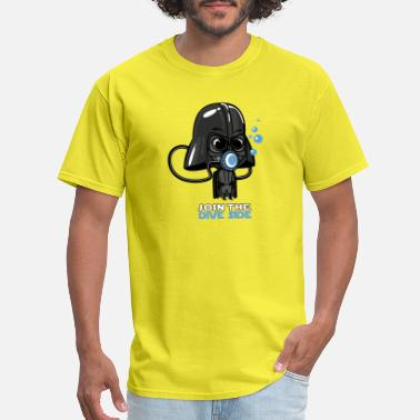 Darth Dive Side - Men's T-Shirt