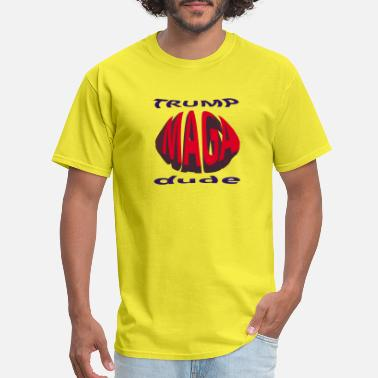 Gop MAGA trump dude - Men's T-Shirt