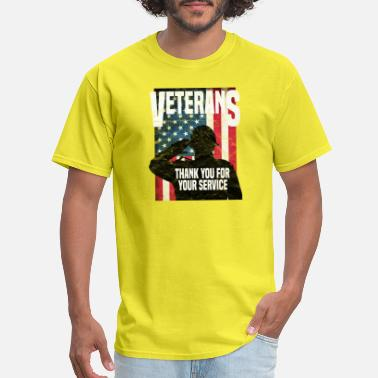 Serve VETERAN - Thank You For Your Service (v1) - Men's T-Shirt
