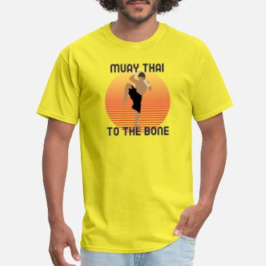 Mix Muay Thai To The Bone Base - Men's T-Shirt