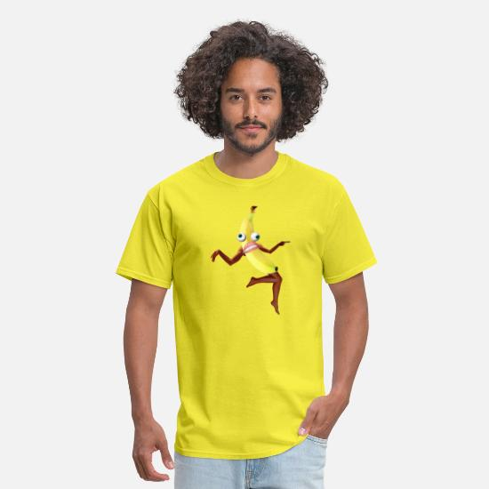 Banana T-Shirts - Banaman - Men's T-Shirt yellow