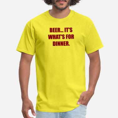 adaa5884 Shop Whats For Dinner T-Shirts online | Spreadshirt