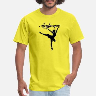 Arabesque arabesque blak - Men's T-Shirt