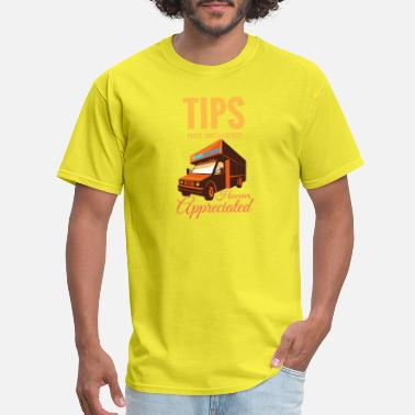 People Mover TIPS not included - Men's T-Shirt