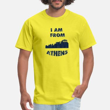 Athens City ATHENS I am from - Men's T-Shirt