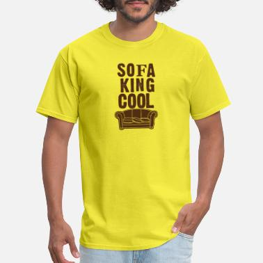King Kong Sofa King Cool funny tshirt - Men's T-Shirt