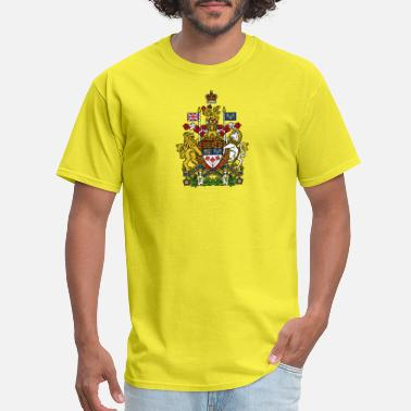 East Vancouver National Coat Of Arms Of Canada - Men's T-Shirt