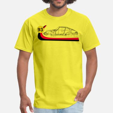 Blueprint 93 Vintage 911 Turbo  Racing  - Men's T-Shirt