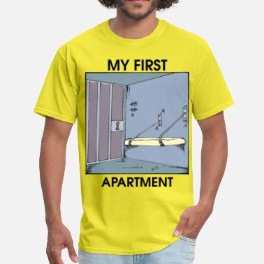 Ratchet Ghetto my first apartment - Men's T-Shirt