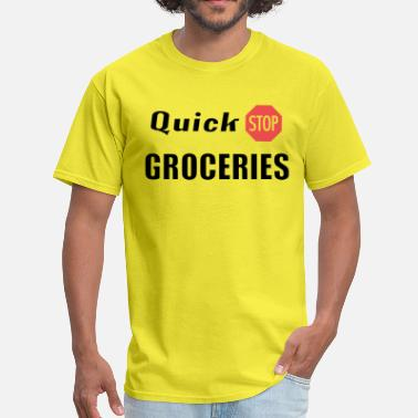 Quick Stop Groceries - CL - Men's T-Shirt