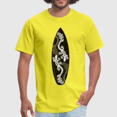 Lizard Design surf board lizard design - Men's T-Shirt