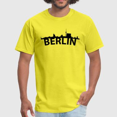 Berlin Skyline Arc Skyline Of Berlin Germany - Men's T-Shirt