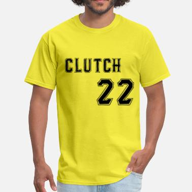 Clutch 22 Black Text - Men's T-Shirt