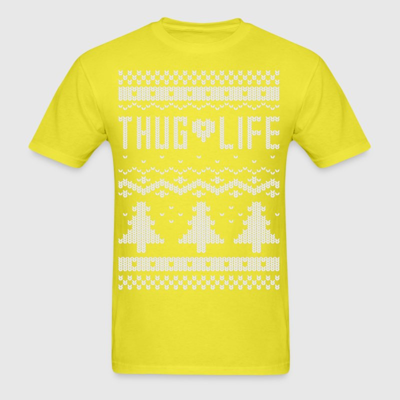 Ugly thug life christmas t shirt thug life christmas for Tacky t shirt ideas