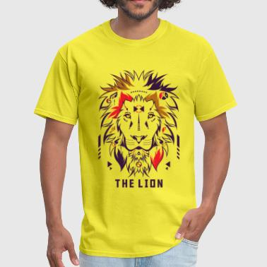 Lion Symbol The Lion - Men's T-Shirt