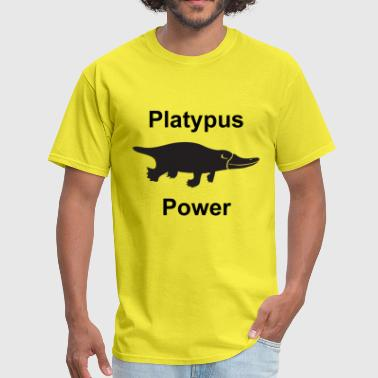 Platypus Power - Men's T-Shirt