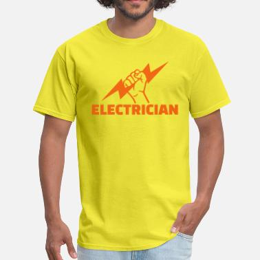 Flash Electrician Electrician - Men's T-Shirt