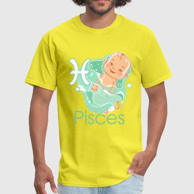 Zodiac sign Pisces - Men's T-Shirt