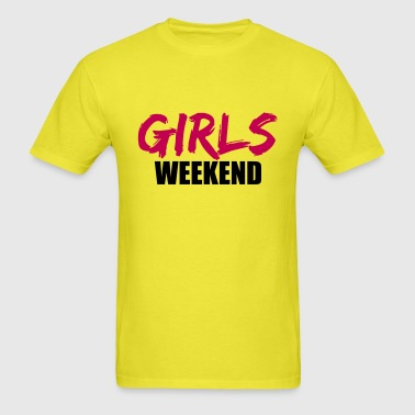 weekend weekend girls trip vacation fun travel wom - Men's T-Shirt