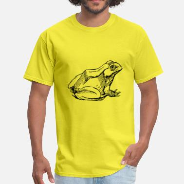 Lurch frog frosch toad kroete reptile reptilien lurch - Men's T-Shirt