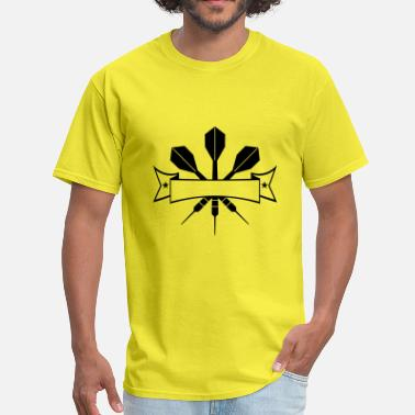 Climbing play darts club club throw dart arrow sport fun ga - Men's T-Shirt