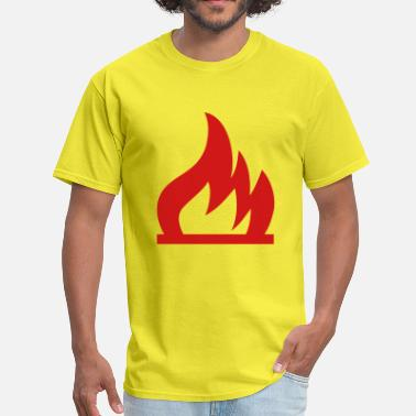 Flammable Fire Flammable - Men's T-Shirt