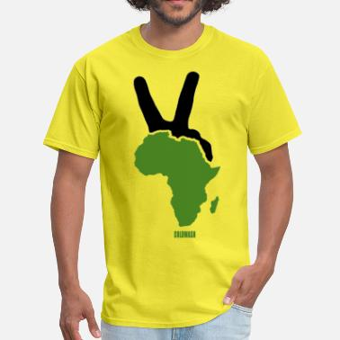 African Culture AFRICAN PEACE - Men's T-Shirt