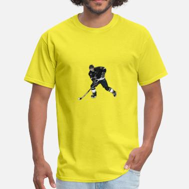 Ice Hockey Comic Comic ice hockey player - Men's T-Shirt