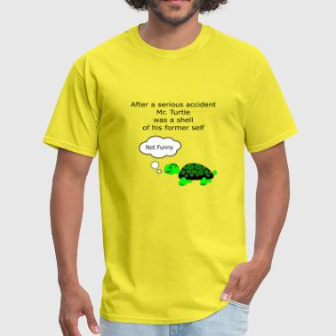 Bad Turtle Mr Turtle pun - Men's T-Shirt