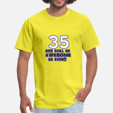 35 Birthday Gift 35 birthday designs - Men's T-Shirt