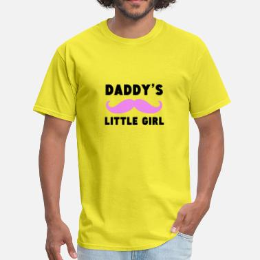 Daddys Little Girl. Daddy's Little Girl Mustache - Men's T-Shirt