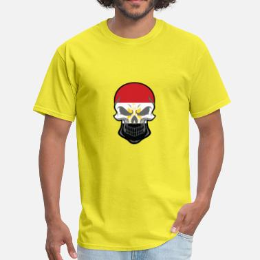 Egyptian Skull Egyptian Flag Skull - Men's T-Shirt