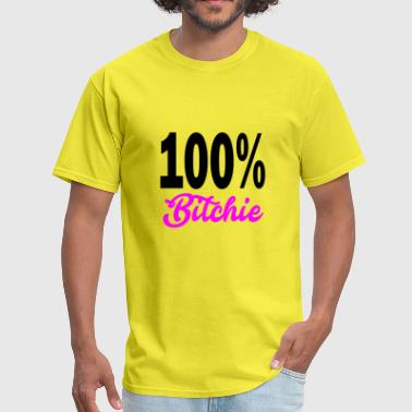 bitchie - Men's T-Shirt