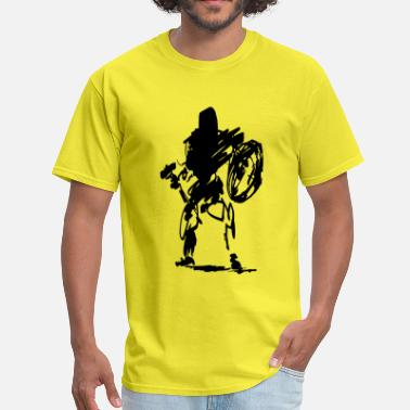 Fantasy Dwarf Axe dwarf butcher - Men's T-Shirt