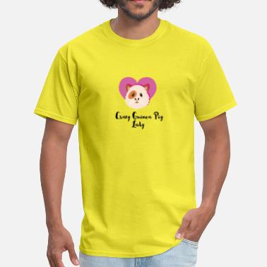 Crazy Guinea Pig Lady Crazy Guinea Pig Lady - Men's T-Shirt