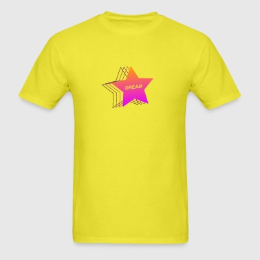 Dream Star - 90s Aesthetic Vaporwave - Men's T-Shirt