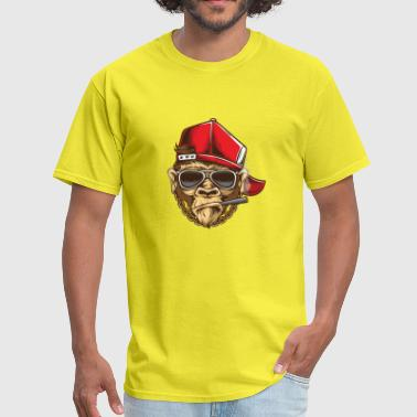 Funky Monkey | Hip Hop | Monkey Swag - Men's T-Shirt